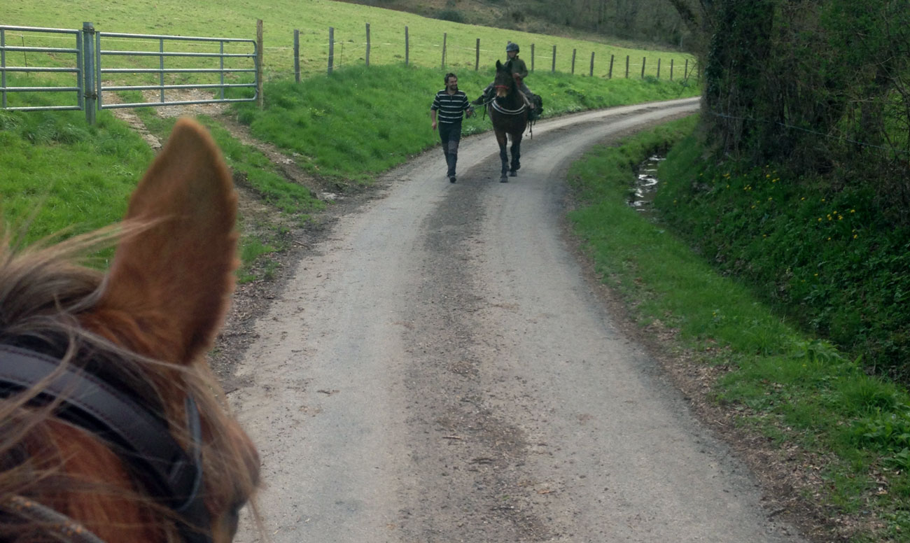 Balade Equitation Claire Rondet Les Ateliers de la Cavale